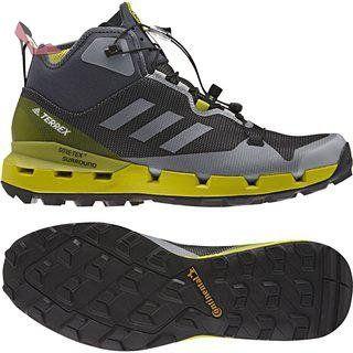 adidas Terrex Fast Mid Gtx-Surround, Bottes de Randonnée Homme, Gris (Grigio Onix/Onix/Limuni), 44 EU - Chaussures adidas (*Partner-Link)