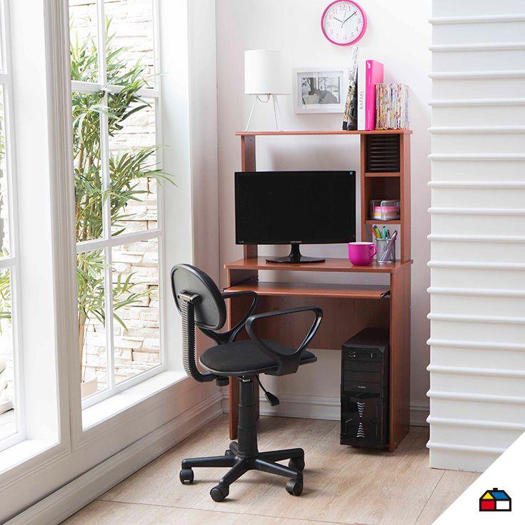 En los espacios peque os tambi n puedes tener un lugar - Mesas de estudio para espacios pequenos ...