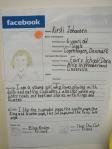 Facebook character analysis: Facebook Fun, Character Facebook, Facebook Profile, Facebook Reports, Facebook Pages Wall About, Facebook Character, Class Book, 5Th Grade, Analysis Facebook