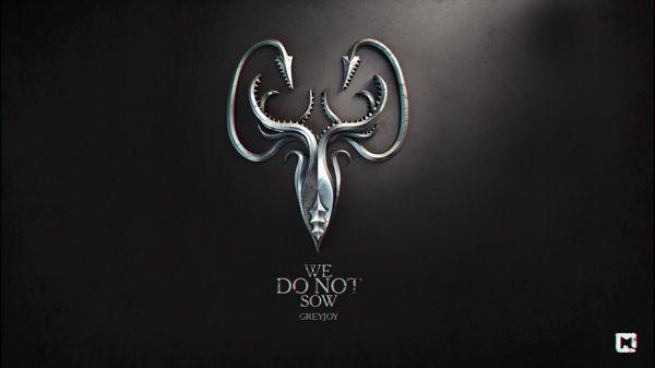Game of thrones wallpapers by Sasha Vinogradova (We do not sow- Greyjoy)