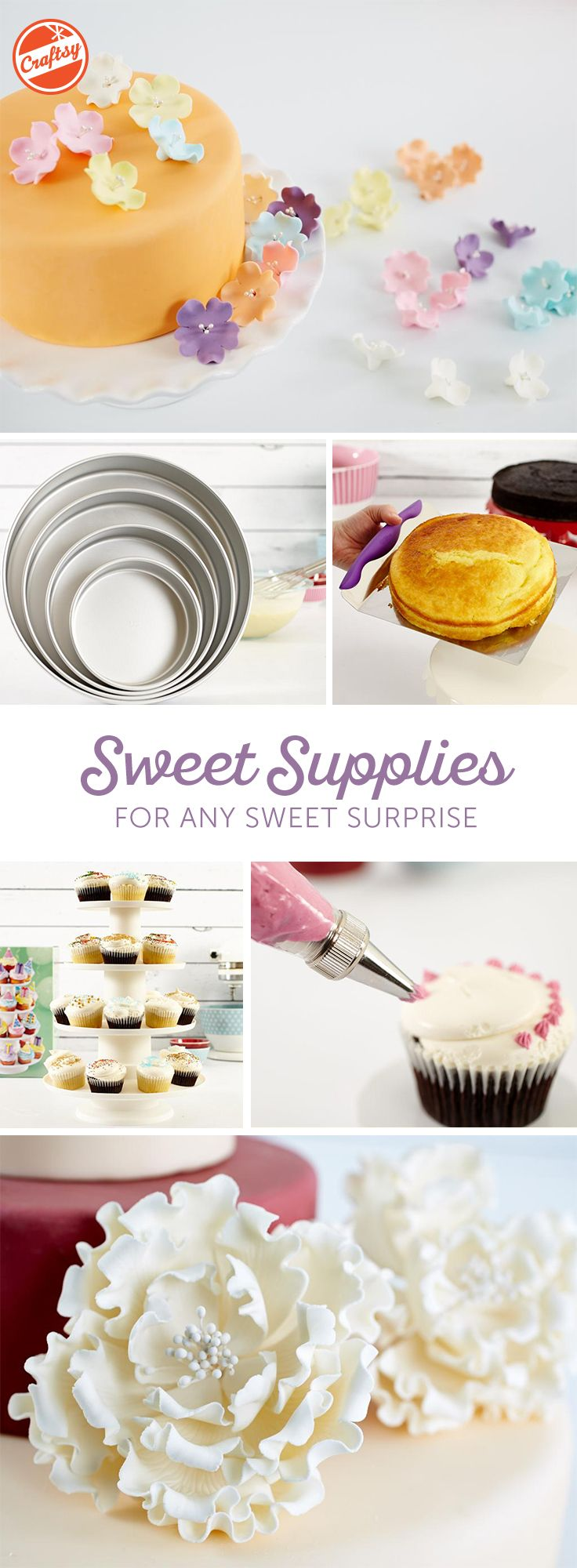 Find the decorating tools you need at prices you can't help but fall for. Get molds, stencils, fondants, pans and much more, as you enjoy a secure, easy and enjoyable online shopping experience.