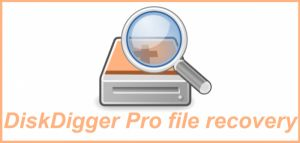DiskDigger Pro File Recovery PRO DiskDigger Pro File Recovery PRO (for rooted devices!) can undelete and recover lost photos, documents, videos, music, and more from your memory card or internal memory (see supported file types below). Whether you accidentally deleted a file, or even reformatted your memory card, DiskDigger's powerful data recovery features can find your lost files and let you restore them.  Note: if your device is not rooted, the app can only perform a