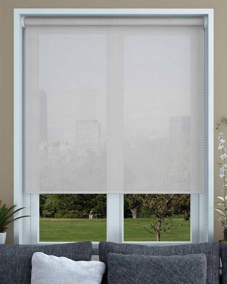 Puriti Cotton Voile Roller Blind - Made To Measure - Make My Blinds