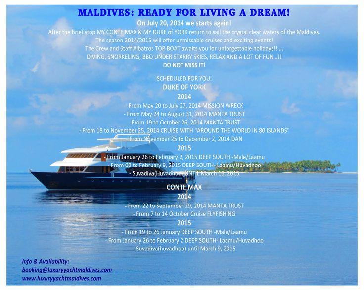 MALDIVES: READY FOR LIVING A DREAM!