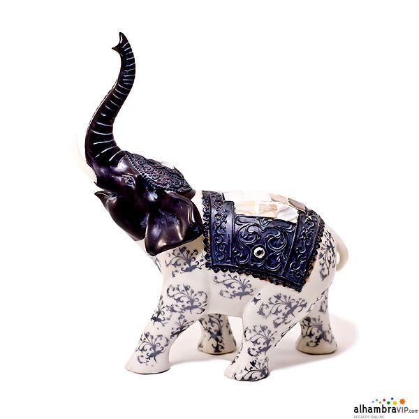 Elefante nacar buena suerte decoraci n alhambravip for Elefantes decoracion feng shui