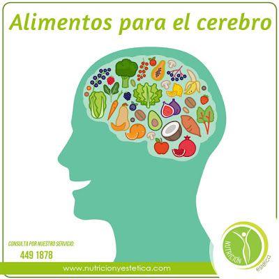 Nutricion Estetica: Conoce los alimentos para el cerebro. Nutricionist...
