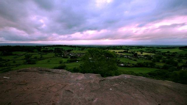 Time lapse Bickerton Hill.