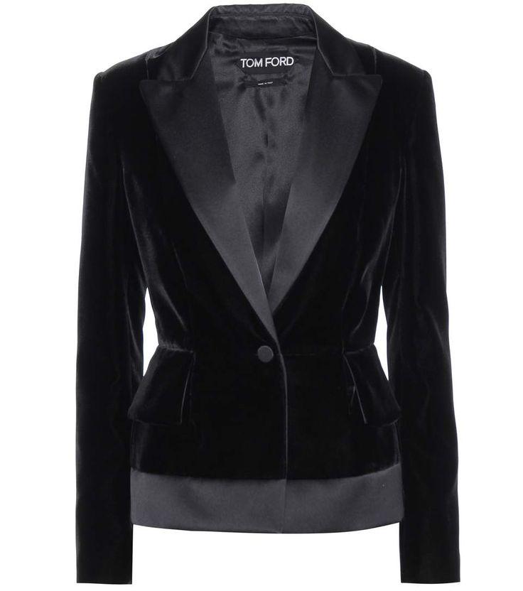 TOM FORD Velvet Blazer. #tomford #cloth #jackets