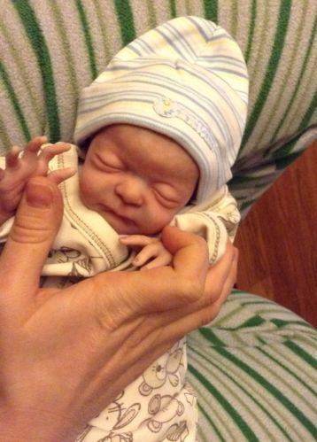 reborn baby doll....look at that....:-)