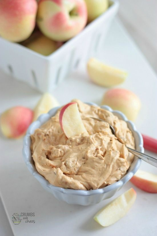 Candy Bar Apple Dip | Crumbs and Chaos