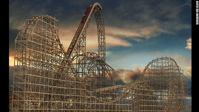 """Banshee at Kings Island makes CNN's list of """"the most insane new U.S. roller coasters""""!"""