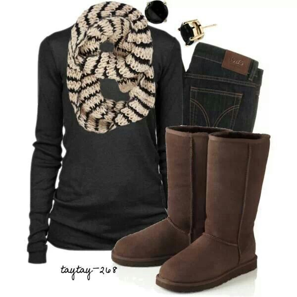 17 Best Images About Outfits With Chocolate Brown Uggs On Pinterest | Ugg Shoes Uggs And Ugg Sale