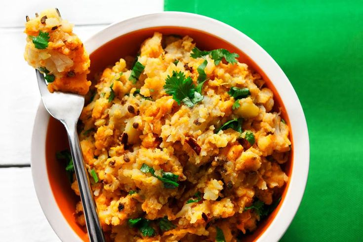 Root Vegetable Mash With Coriander as seen on Great Tastes of Manitoba | http://canolaeatwell.com