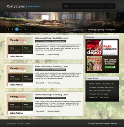 Website Layout Toolbox