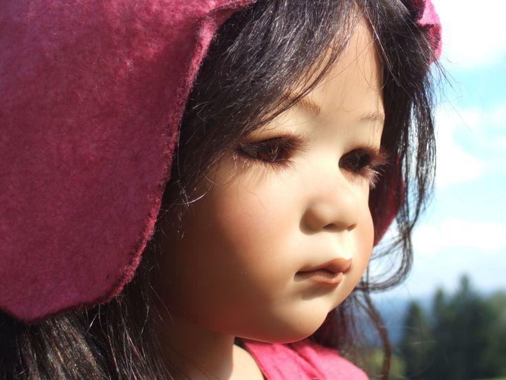 Tscharle, artist doll of Annette Himstedt, Winterkinder 2008   EBay