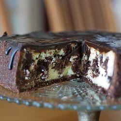 Dessert! Brownie Mosaic Cheesecake—three favorites in one!