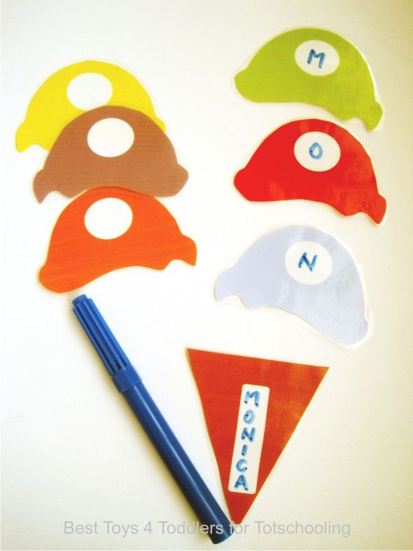 Ice Cream Name Recognition with Free Printable | Totschooling - Toddler and Preschool Educational Printable Activities