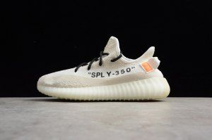 785ed81e68144 Mens Womens adidas Yeezy Boost 350 V2 Cream White B37570 Running Shoes