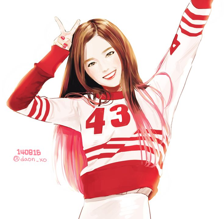 Red Velvet Irene by Daon, i wanna draw exactly like this, this is my goal