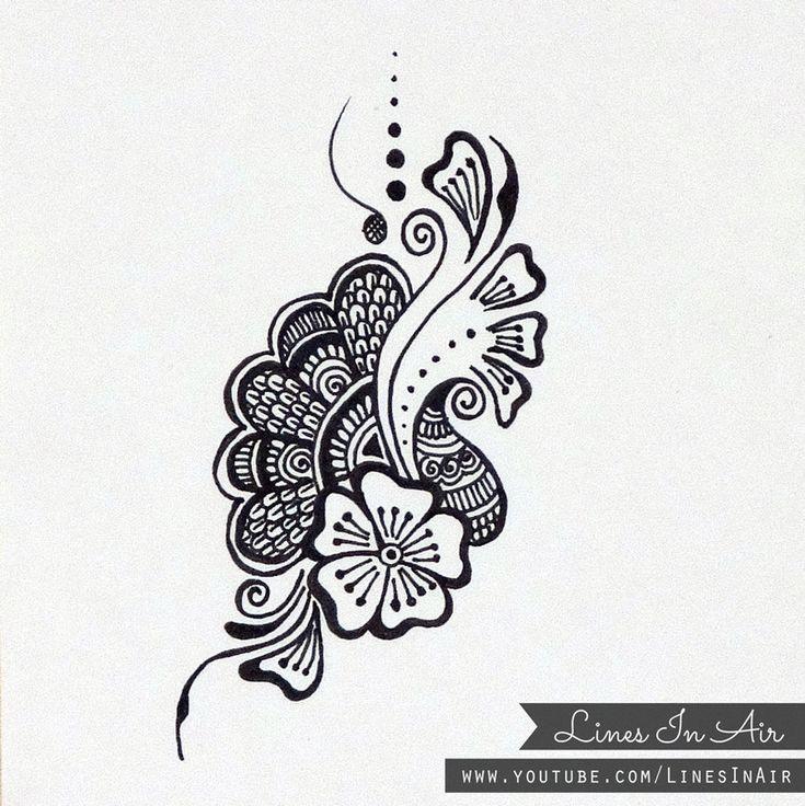 Line Art Tattoo Artists Near Me : Best ideas about henna doodle on pinterest