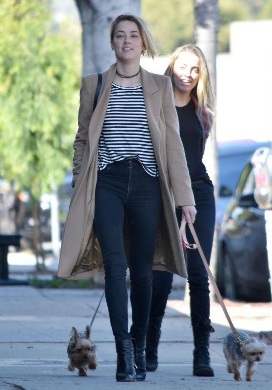 11 Looks da Amber Heard Por Aí