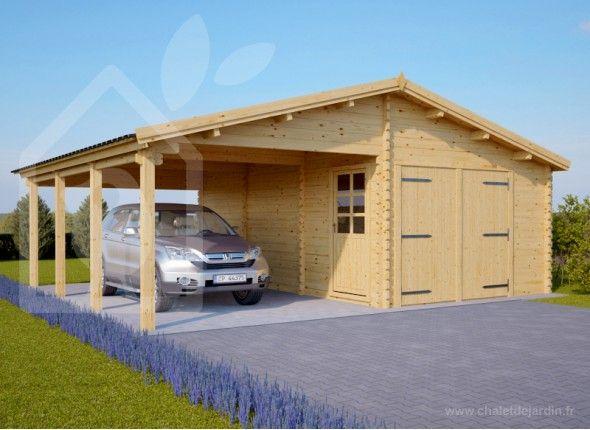 top 25+ best garage en bois ideas on pinterest | carports en bois