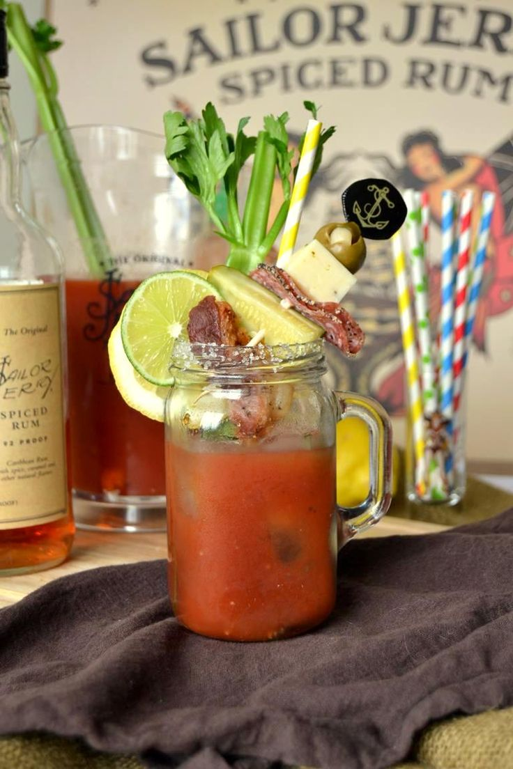 Spicy Sailor Bloody Mary