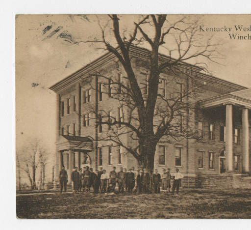 Kentucky Wesleyan College, Winchester. :: Ronald Morgan Postcard Collection