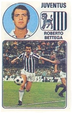 Bettega - Panini Euro Fútbol 77