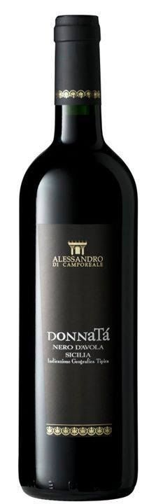 Vino DONNATA  Alessandro di Camporele Nero d Avola biologico CL 75 DOC 2013