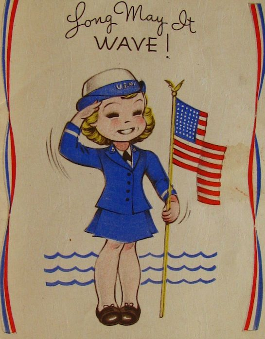 Long May it WAVE!!!...I love this because I WAS a WAVE! US Navy Veteran