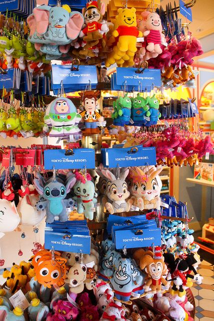 All sizes | Tokyo Disney Plush Keychain Buddies | Flickr - Photo Sharing! This is why I need to go to Toyko Disney Resort!!