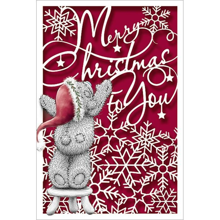 Merry Christmas to You Me to You Bear Tatty ted