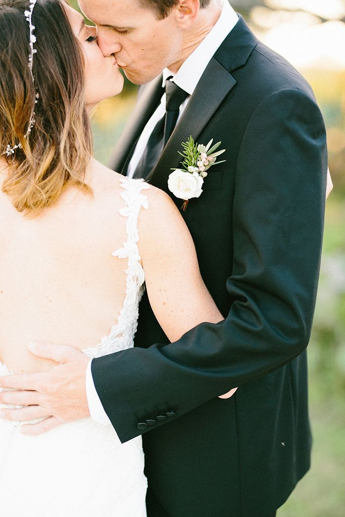 Wedding Day with an Open Back Dress  https://heyweddinglady.com/craft-cocktails-summer-sun-european-style-wedding/    #wedding #weddings #weddingideas #texaswedding #weddingstyle #weddingdress #weddingceremony #ceremony #brideandgroom