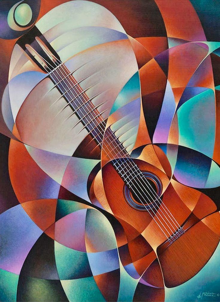 Best 20 dibujos de guitarras ideas on pinterest dibujo for Cuadros al oleo modernos