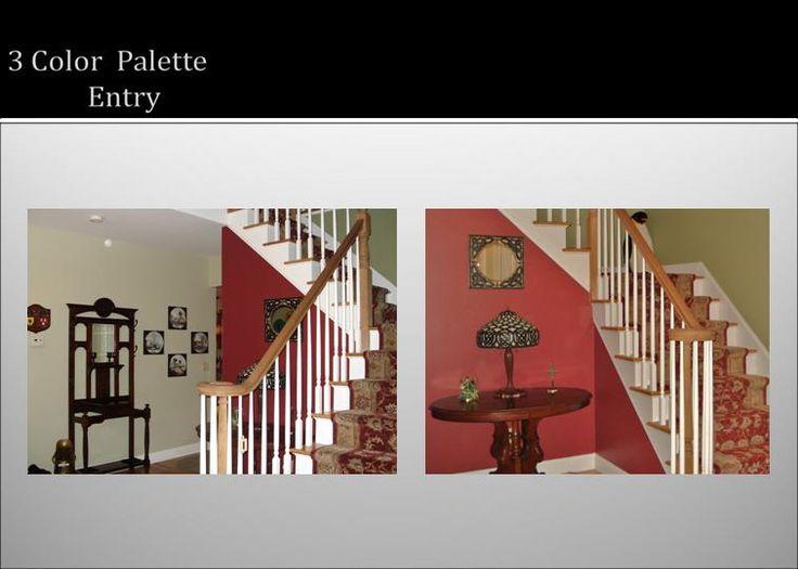 3 Color Scheme Foyer