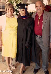 Eva Longoria Earns Her Masters Degree