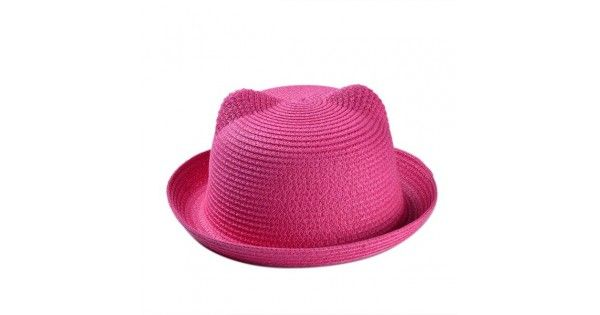 Παιδικό Καπέλο Τύπου Παναμά Unisex ΦούξιαΚαλοκαιρινό παιδικό καπέλο τύπου Panama για αγόρια και κορίτσια.Στυλ: CasualΣύνθεση: ΆχυροΧρώμα: ΦούξιαΠερίμετρος κεφαλής: 51 cm