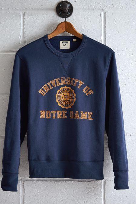 Tailgate Notre Dame Crew Sweatshirt