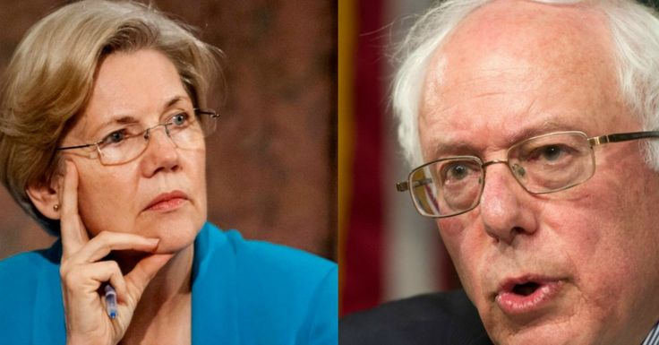 Liberals Roar As Bernie Sanders Joins Elizabeth Warren On Bill To Reinstate Glass-Steagall