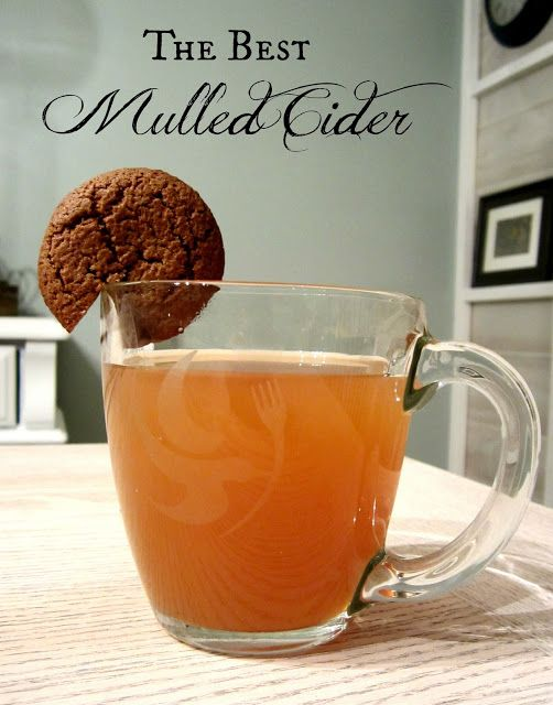 The BEST Mulled Cider Recipe!