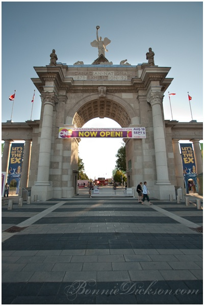 Toronto, CNE (Canadian National Exhibition).  A very fun place to visit.