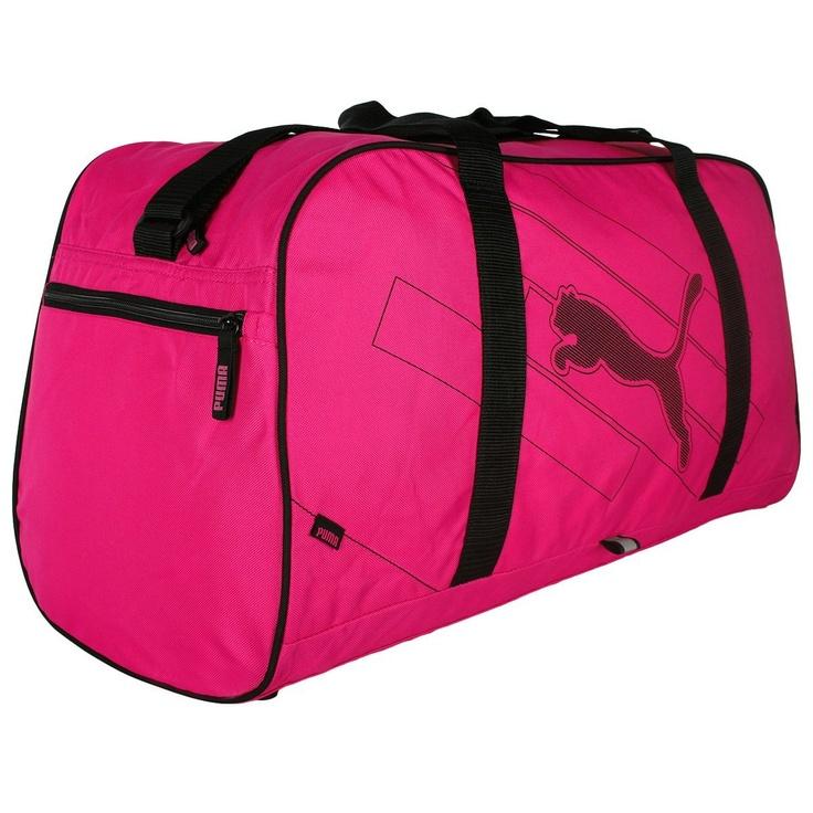 Puma Bag Echo Holdall Sports Travel Gym Bag - Hot Pink £29.95