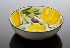 Bassano mediterrane Obstschale Müslischale Dessert Obst italienische Keramik 15