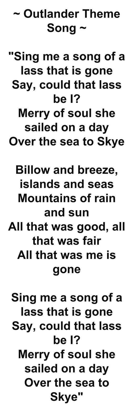 'Outlander' Theme Song                                                                                                                                                      More