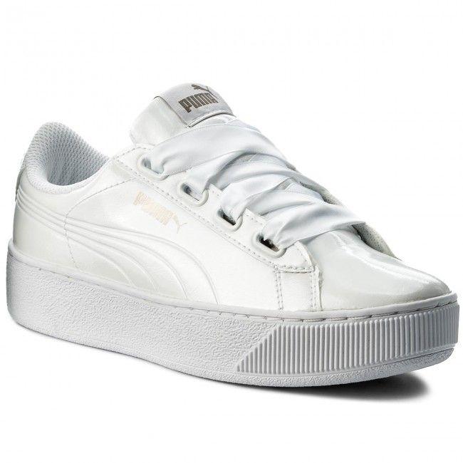 Sneakersy PUMA Vikky Platform Ribbon P 366419 02 Puma