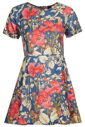 Poppy Pleated Dress by Boutique