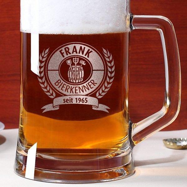 Bierseidel mit Griff