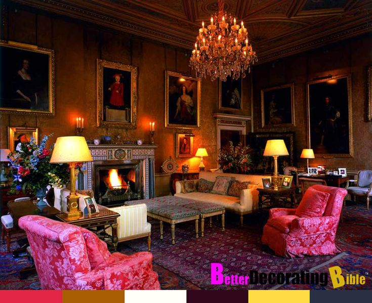 Wall Colour Inspiration: 18th Century Home Decorating