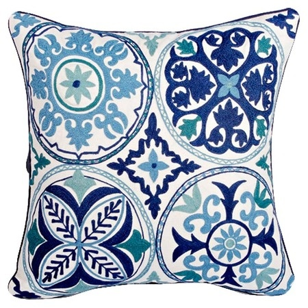 I pinned this Blue Pottery Pillow from the Purva Designs event at Joss and Main!